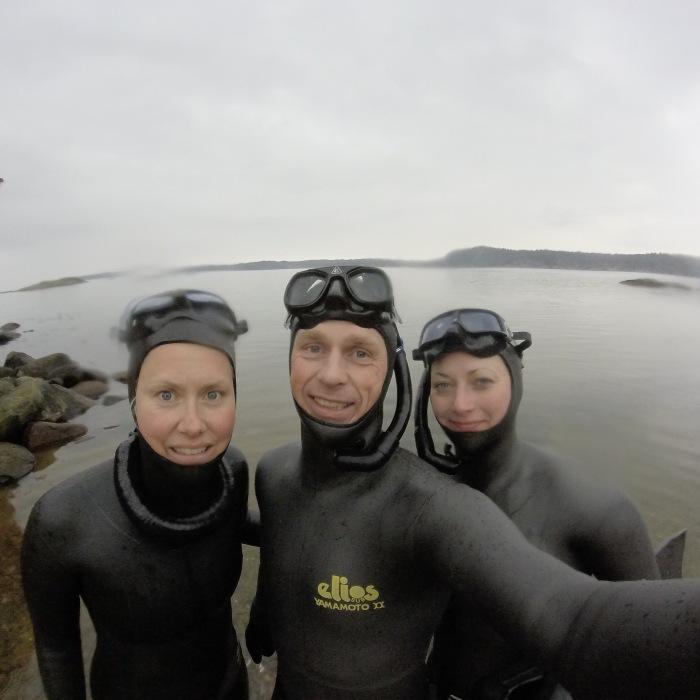 Linda Stenman, Christian Ernest och Sofia Tapani
