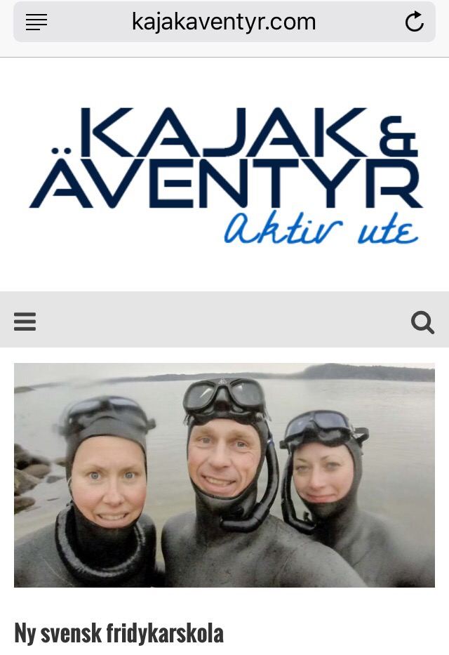 Kajak & Äventyr + Fridykarkommunen